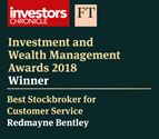 ICFT Best Stockbroker for Customer Service 2018