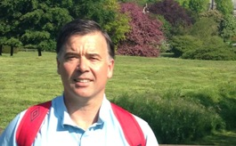 Mark tackles 100km Cotswold Challenge for Cancer Research UK