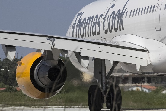 Thomas Cook launches review of airline business after losses widen