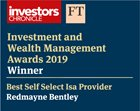 ICFT Best Self-Select ISA Provider 2019