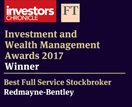 Redmayne-Bentley named Best Full Service Stockbroker